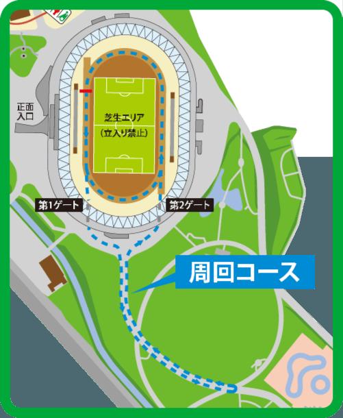 ファミリーラン・コース図