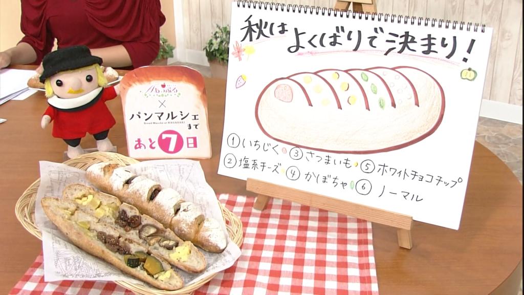 パンの絵と本物